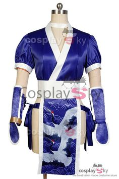 DOA: Dead or Alive Kasumi Cosplay Costume: $64.99 Reduced Price: $58.49