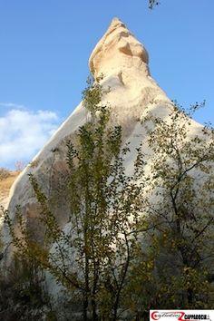 Cappadocia zemi valley wizard chimney