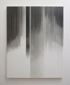 It has been quite some time since we last featured some beautiful minimalist art pieces on Minimalissimo, so today I would like to introduce you to the remarkable painted works of New York based abstract artist, Augustus Nazzaro.