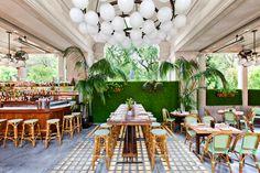 Al Fresco Outdoor Patio Dining Food Pics New York