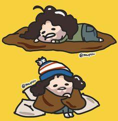 Lazy chibi Danny~