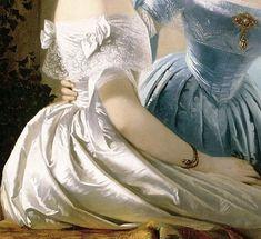 Arte, dettagli, veli, sensualità e ingenuità ! Art, details, veils, sensuality and naivety! Old Paintings, Classical Art, Renaissance Art, Renoir, Portrait, Aesthetic Art, Monet, Art Inspo, Art History