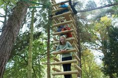 """4-sided Rope Ladders for treehouses by Treehouse Life """"...a world away from everyday"""""""