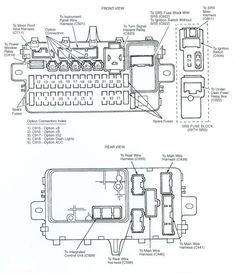 Under-hood fuse box diagram: Ford Edge (2011, 2012, 2013