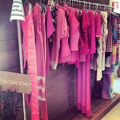 nas lojas... #PINK #HAES <3
