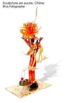 china-sugar sculpture