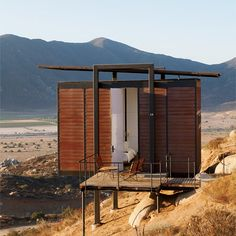 Encuentro Guadalupe-20 chic cabins perched on a rocky slope in the heart of Baja California's wine country. Casual poolside dinners feature fresh catches from the nearby Ensenada coast—seafood tostadas, lobster tacos—and Baja red wines. Doubles from $175; encuentroguadalupe.com.