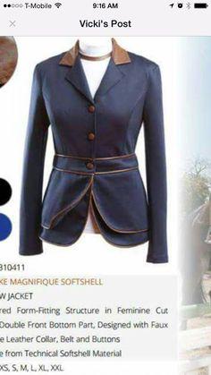 Custom dressage coat