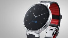 CES: Alcatel OneTouch Watch will work with Android, iOS devices - (Jan Smartwatch, Android Wear, Wearable Technology, New Technology, Stylish Watches, Cool Watches, Alcatel One Touch, Swiss Army Watches, New Gadgets