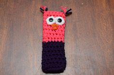 Crochet de Freezie titulaire Owl Owl Freezie par TheRainbowDesigns