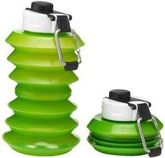 Ohyo 1000ml Collapsible Water Bottle (Green) Ohyo