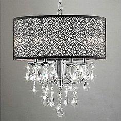 luxo de jantar minimalista quarto lustre – BRL R$ 472,42
