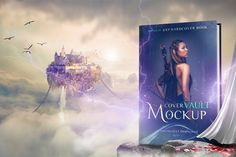 Fantasy in the Sky 6 x 9 hardcover book mockup with a sci-fi flair. Lighting rods are removable and you can also paste your own background. File Info Photoshop CS6 or higher recommended. Mockup works by editing Smart Object layers. 6x 9in. Cover Background is changeable. Effects on separate layers. Looking for more mockups and …
