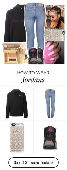 """slow it down i just dissed u"" by lowkeytayy on Polyvore featuring NIKE, Casetify, Nudie Jeans Co. and Retrò"