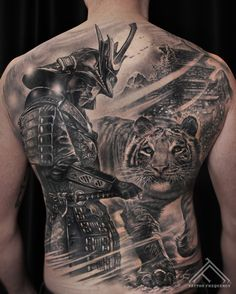 Completely healed, detailed black and gray tattoo on mans back. Artist Maris Pavlo #samurai #samuraitattoo #tiger #tigertattoo #animal #snow #sword #armor #mountains #japan #japansamurai #realism #realistic #tattoo #moon #whitetiger #riga #tattooinriga #sporta2 #tattooed #tattooist #tattooart #art #tattooink #ink #inked #skin #tattooartist #tattoofrequency #share #like #follow