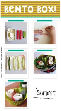 bento without rice surimi for children