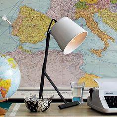 Dokter + Misses Table Lamp   west elm $79