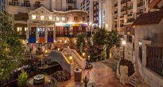 Marriott hotel in Dallas....