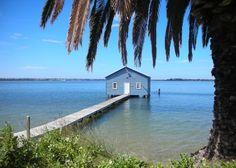 Swan river, Perth, Western Australia.  Photo by Su Wolf