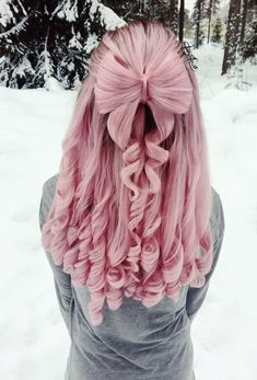 33 blue ombre hair color trend in 2019 51 Pink Blonde Hair, Pink Wig, Ombre Hair, Pretty Hair Color, Hair Color Purple, Hair Dye Colors, Blue Ombre, Unique Hairstyles, Girl Hairstyles