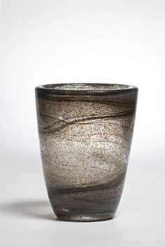 Maurice Marinot, vase, glass, 1923