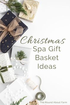 Christmas Spa Gift Basket Ideas: For someone who needs a little pampering, a spa gift basket is a thoughtful gift. Find what you need here. #spa #GiftBasket #Christmas #GiftBasketIdeas #SpaGiftBasket #TheRoundAboutFarm #ChristmasGiftIdeas via @theroundaboutfarm Christmas Activities For Kids, Family Activities, Christmas Holidays, Christmas Ideas, Christmas Crafts, Spa Basket, Basket Ideas, Christmas Blessings, Christmas Wishes