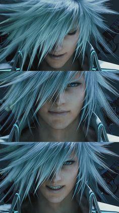 Ff Game, Tetsuya Nomura, Final Fantasy Vii Remake, Fantasy Characters, Dreadlocks, Hair Styles, Anime, Men, Beauty