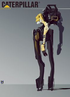 Caterpillar mech concept thing.