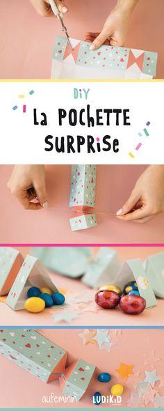 Pour un anniversaire ou un petit cadeau à offrir à son camarade de classe... Avoir quelques pochette-surprises chez soi peut toujours s'avérer être bien pratique !