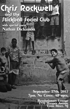 #RevolutionaryLounge with #StickballSocialClub and guest Nathan Dickinson  #ChrisRockwell