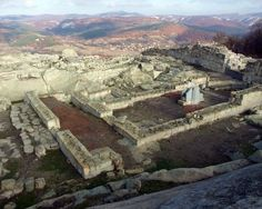 The ancient site of Perperikon, Bulgaria. Photo source.