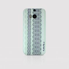 HTC One M8 Case  Lace & Mint P00016 by rabbitmint on Etsy, $20.00