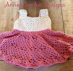 Crochet Vintage Dress Is Perfect For Your Princess | The WHOot