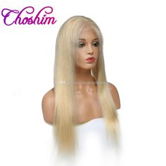 Cheap Choshim 10a Kl Full Lace Human Hair Wigs #Straight Brazilian Remy Hair Blonde Lace Wigs Natural Hairline With Baby Hair 12 20 Wig Human Hair Brazilian Hair Full Lace Wigs From Choshimbesthair, $365.07| Dhgate.Com