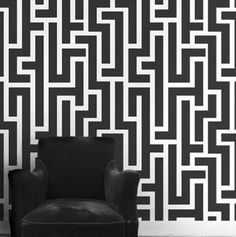 Hepburn wallpaper in light black