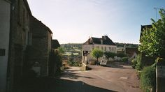 Echevronne, near Savigny-lès-Beaune, France 1997 (house exchange)