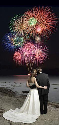 #weddingfireworks wedding firework