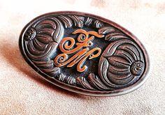 #f.motta.orfebre#hebilla #handmade #silversmithing Motto, Coins, Enamel, Personalized Items, Handmade, Accessories, Instagram, Vitreous Enamel, Hand Made