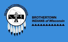 photos of american flag with indian on it   American Indian Tribal Flags - Brothertown Indians and Ecota Cherokee ...