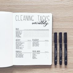"""1,508 Likes, 45 Comments - Sandra-Olivia (@abulletandsomelines) on Instagram: """"Here's this month's cleaning schedule. Now that my husband is back from touring I'm going to leave…"""""""