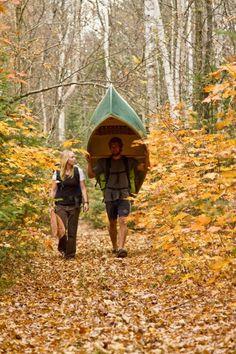 canoe portage essential skills
