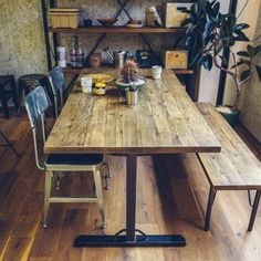 Rustic Dining, Table, Home, Table Legs, Rustic Dining Table, Interior, House, Dining, Dining Table
