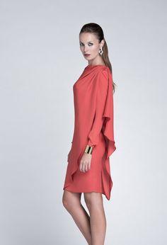 eb505336c Colour Nude para las invitadas de 2014  boda  invitadas  vestidos Vestido  De Reunión
