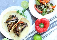 Looking for a meatless recipe even the meat lover in your life will enjoy? These Roasted Portobello Fajitas are just what you're looking for!