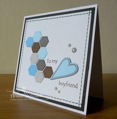 Neet & Crafty: Masculine Stitches & Hexagons