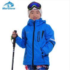 56.55$  Buy now - http://aliolk.worldwells.pw/go.php?t=32775688765 - Marsnow Kid Ski Suit Snowboard Jacket+Vest Children Skiing 3 in 1 Jackets Boys Girls Waterproof Jacket Waistcoat Snow Set CJ01