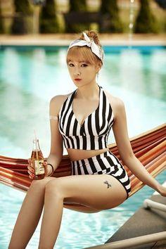 Nine Muses release more individual teaser images for summer comeback | allkpop.com