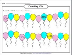 Skip Counting by 100
