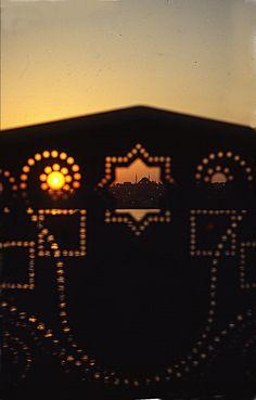 La moscheda di Suliman dal ponte di Galata al tramonto (Istanbul)