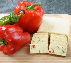 Vegan Pepperjack Cheese